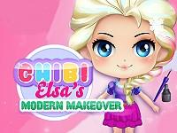 Chibi Elsa's Modern Makeover