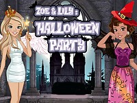 Zoe & Lily: Halloween Party