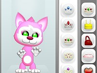 Pink Kitten Dress Up
