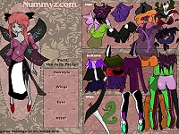 Dark Anime Fairy Dressup Game