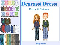 Degrassi Style Dressup