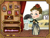 Victorian Girl Dress Up