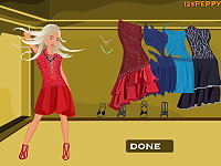 Shop N Dress Food Roll Game: Latin Dance Dress