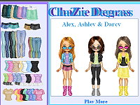 Degrassi Style Dressup - Alex, Ashley & Darcy