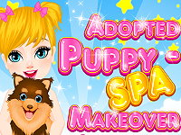 Adopted Puppy – Spa Makeover