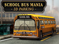 3D Parking School Bus Mania