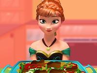 Anna cooking Chicken Salad