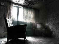Abandoned Dark Room Escape