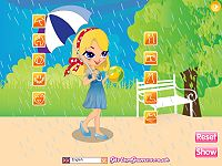 Play in the Rain Dress Up