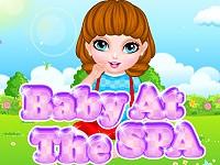 Baby At The Spa