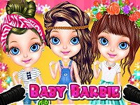 Baby Barbie Summer Photoshoot
