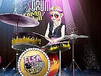 Elsa Drum Lesson