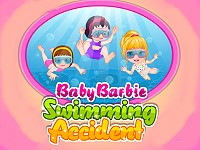 Baby Barbie Swimming Accident