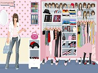 My Closet dress up game