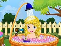 Baby Cinderella Summer Bath