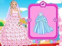 Glam Barbie Bride