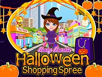 Baby Barbie Halloween Shopping Spree