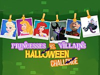 Princesses vs. Villains Halloween Challenge
