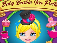 Baby Barbie Tea Party