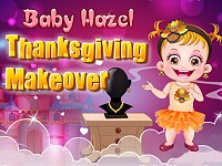 Baby Hazel Thanksgiving Makeover