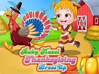 Baby Hazel Thanksgiving Dress Up