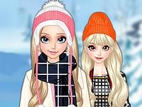 Elsa's Winter Travelling