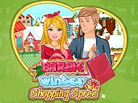 Barbie Winter Shopping Spree