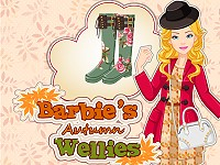 Barbie's Autumn Wellies