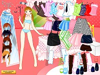 Doll Star Dress Up