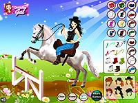 Horse Ride Girl