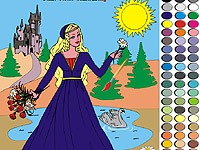 Coloring Princess