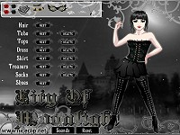 Vampire Alice Dressup Game